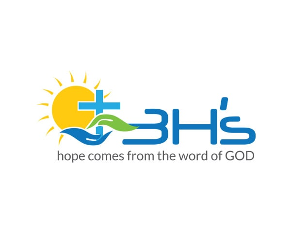 3H Hope comes from the word of GOD Logo Design Portfolio