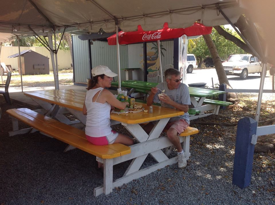 Cheeseburgers in America's Paradise - St Croix Wheelchairs