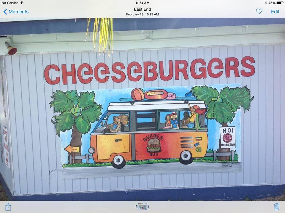 Cheeseburgers in America's Paradise - St Croix Surroundings