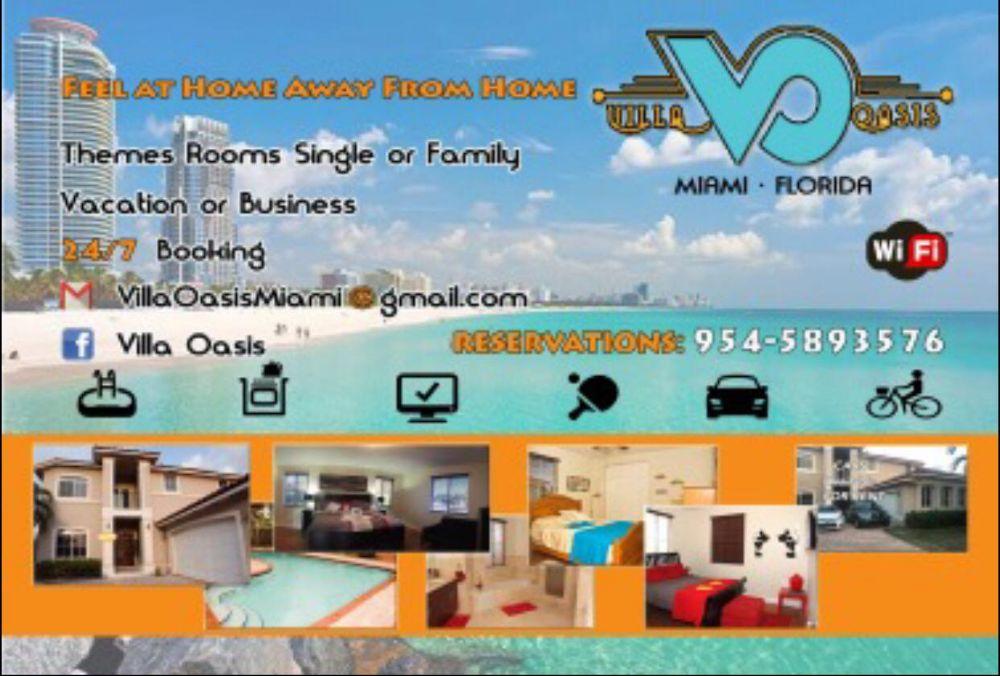 Villa Oasis - Tamiami Webpagedepot