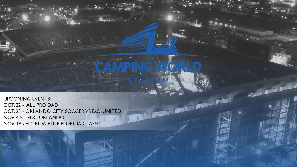 Camping World Stadium - Orlando Appointments