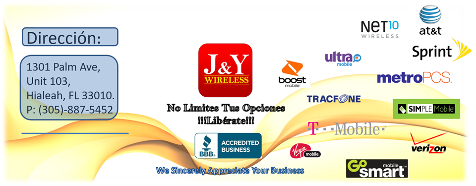 J&Y Wireless, Inc (BoostMobile/Metro PCS/T-Mobile/AT&T) - Hialeah Contemporary