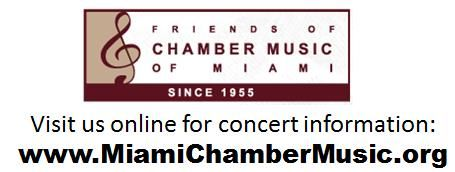 Friends of Chamber Music Informative