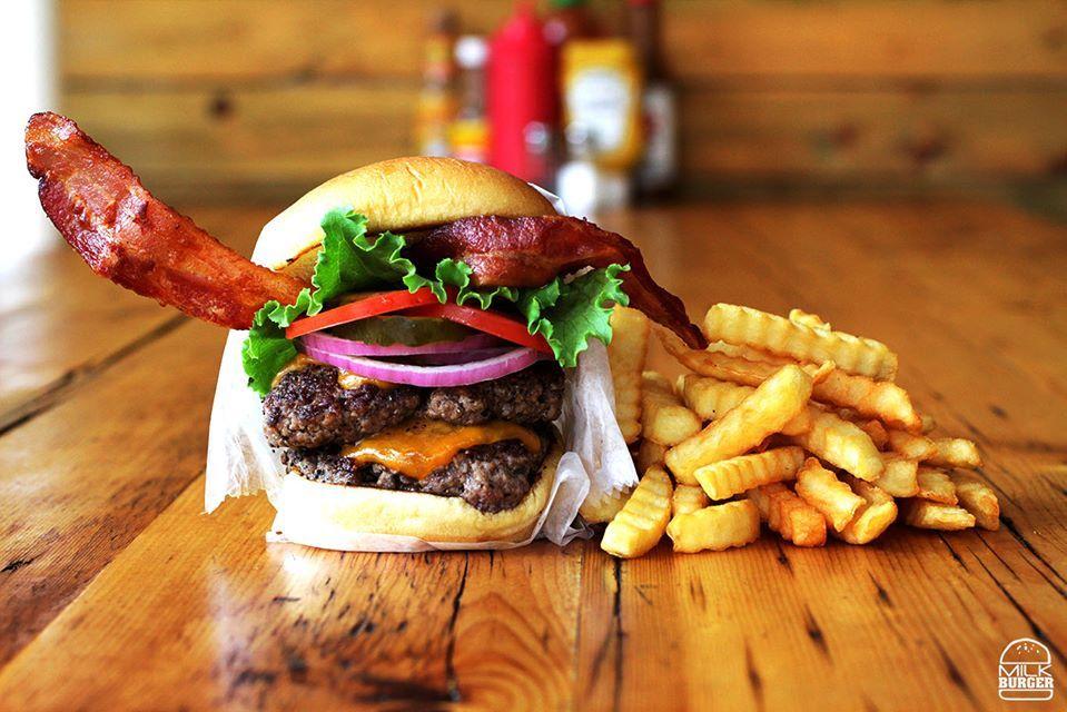 Milk Burger - The Bronx Regulations