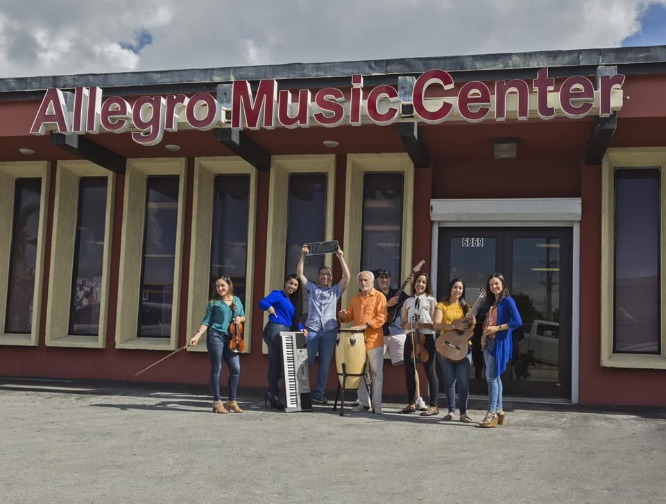 Allegro Music Center Combination