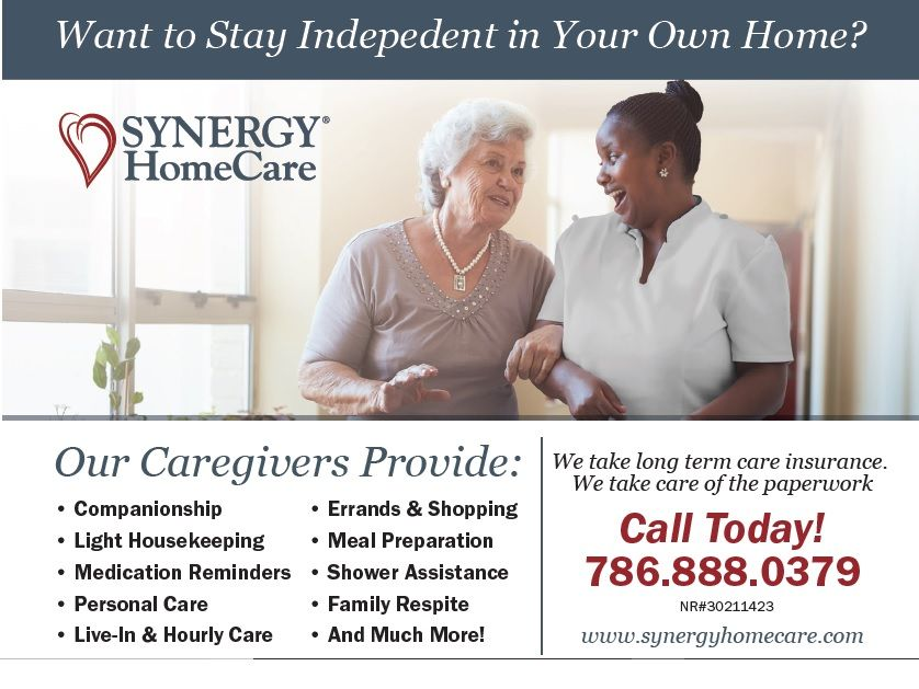 SYNERGY HomeCare - Miami Webpagedepot