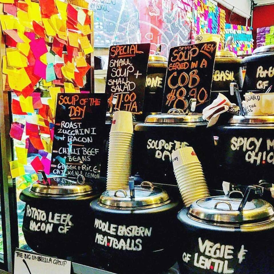 The Soup Place - Melbourne Webpagedepot