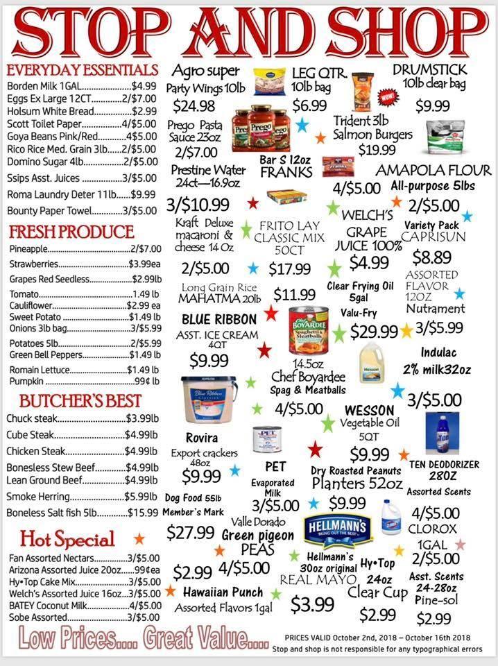 Stop & Shop Supermarket - St Croix Supermarket