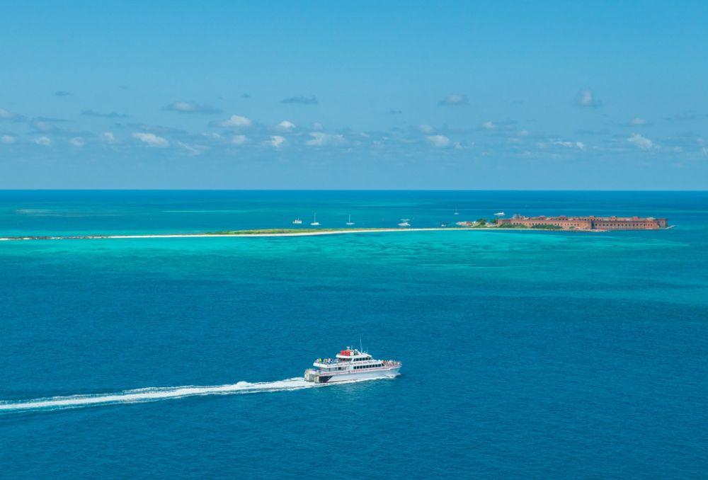 Yankee Freedom III Dry Tortugas Ferry - Key West Exploration