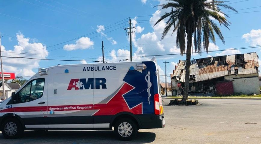 American Medical Response - Tampa Cleanliness