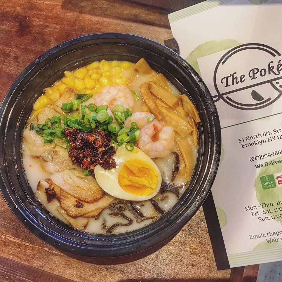 Blossom ice cream and the poke bowl - Brooklyn Accessibility