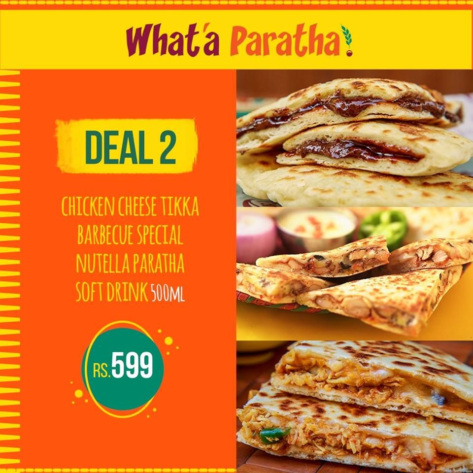 What'a Paratha - Lahore Webpagedepot