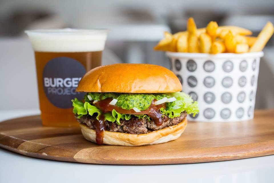 Burger Project St Collins Lane - Melbourne Establishment