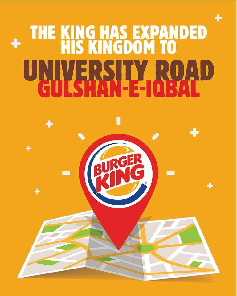Burger King - Lahore Accessibility