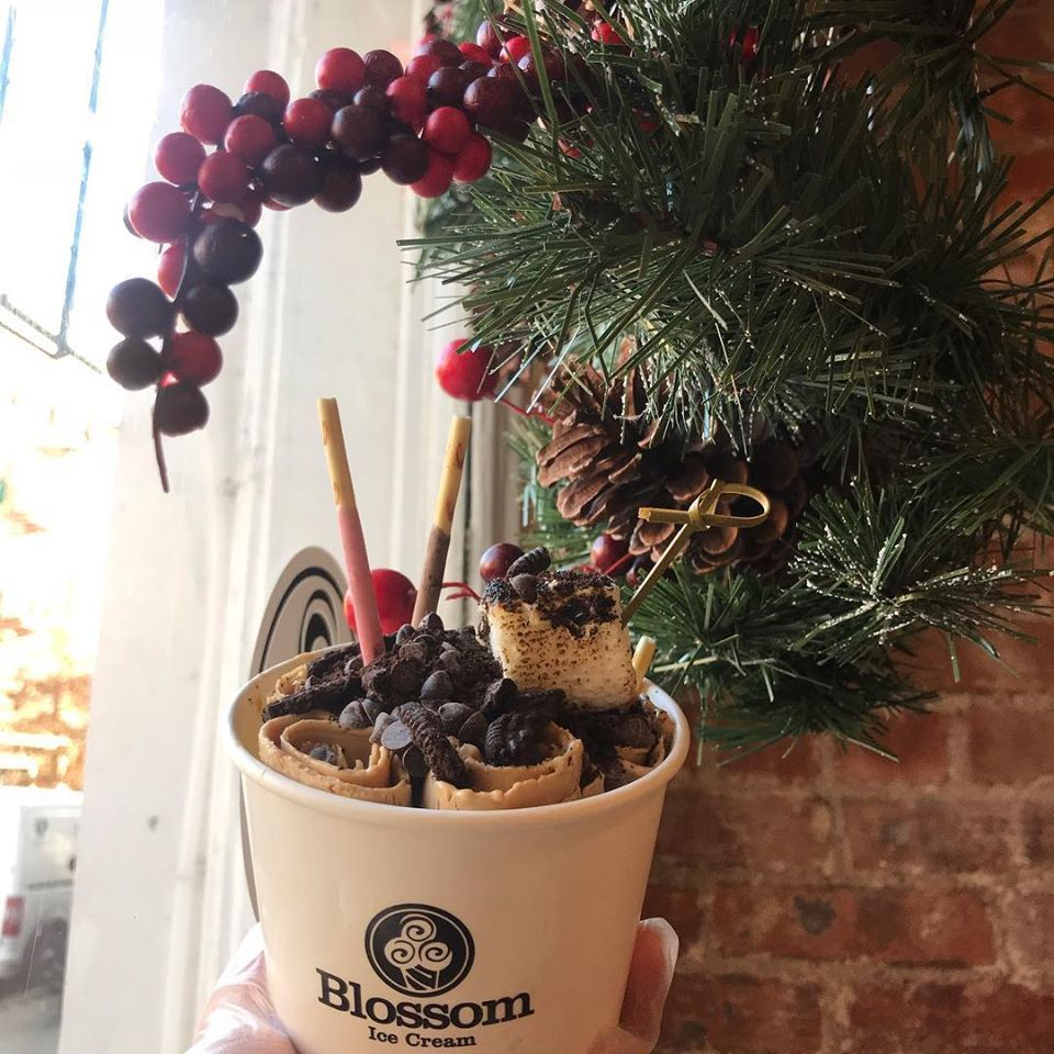 Blossom ice cream and the poke bowl - Brooklyn Informative