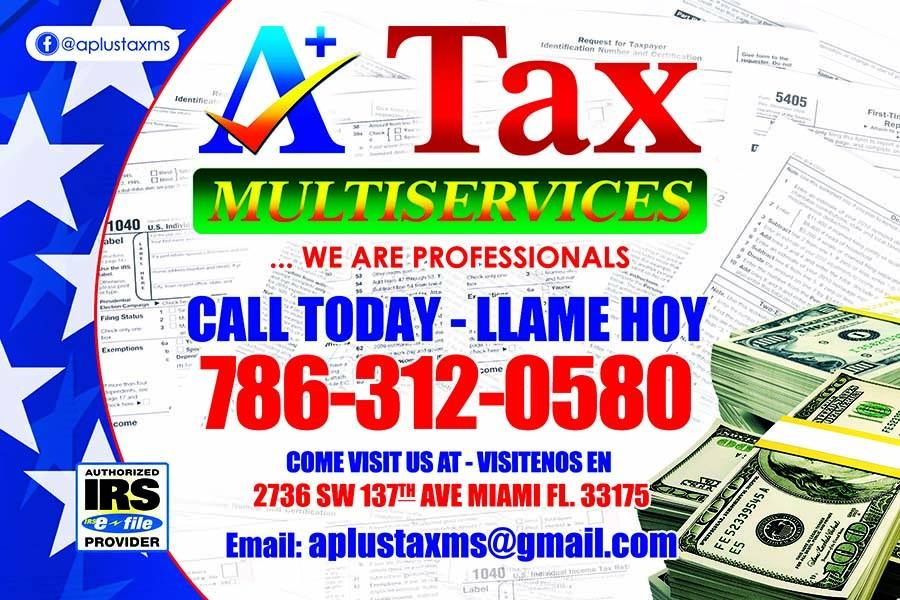 A Plus Tax Multiservices - Tamiami Multiservices