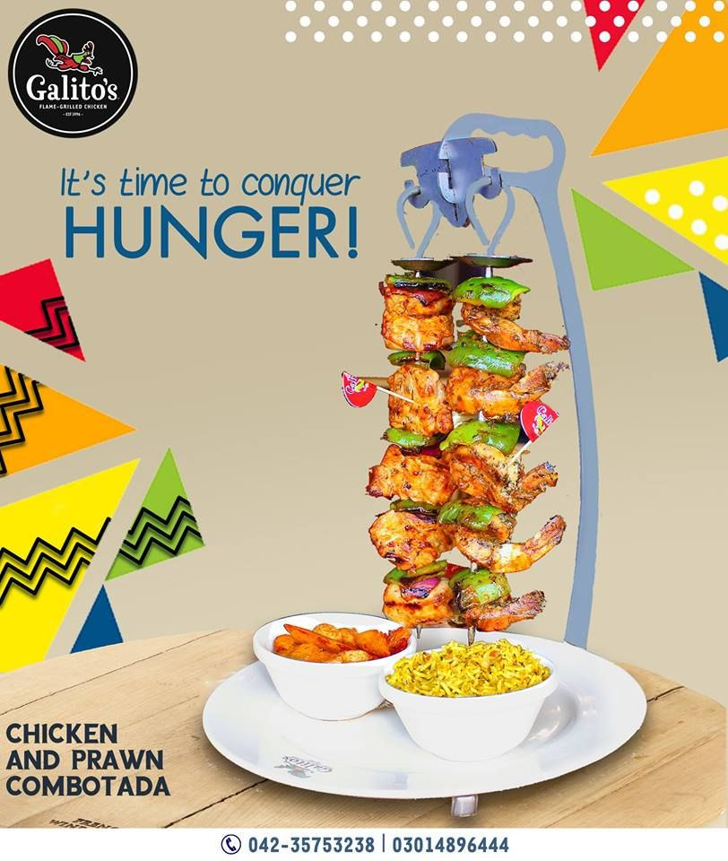Galito's - Flame Grilled Chicken - Lahore Webpagedepot