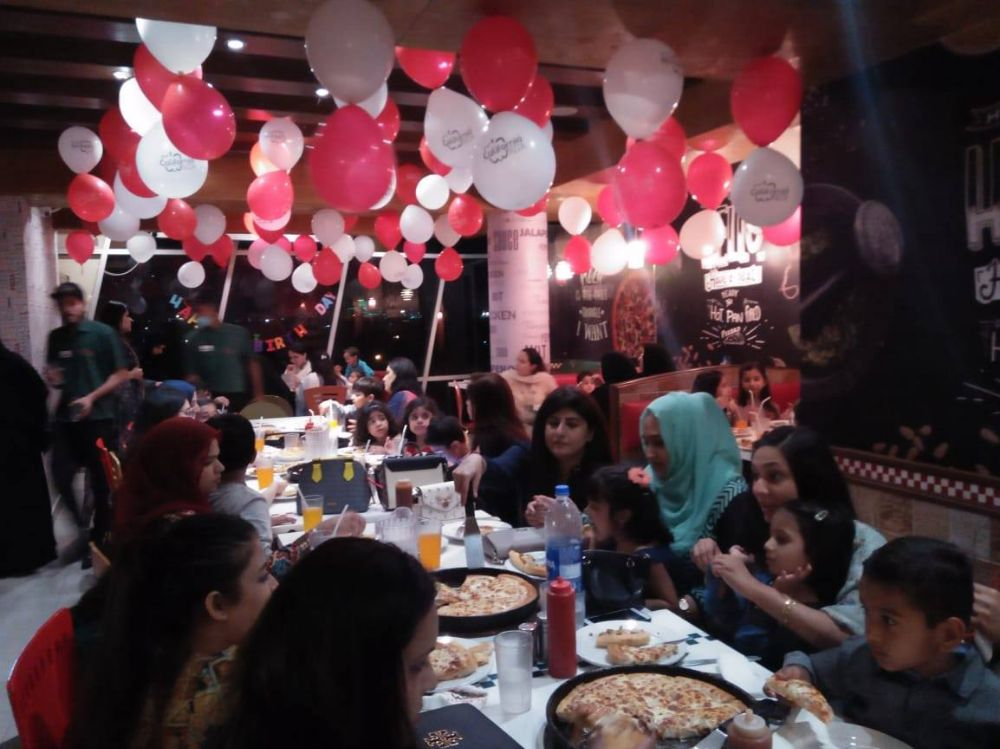 California Pizza - Lahore Reservations
