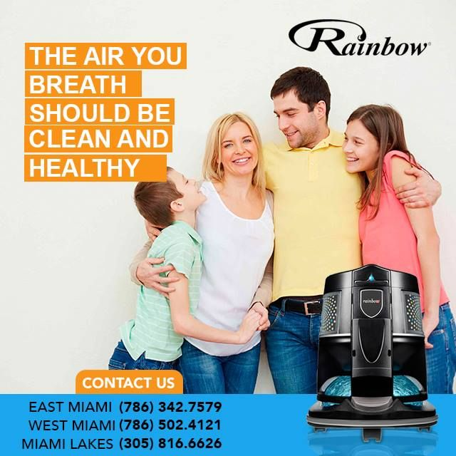 Rainbow Vacuum Cleaners Miami - Tamiami Timeliness
