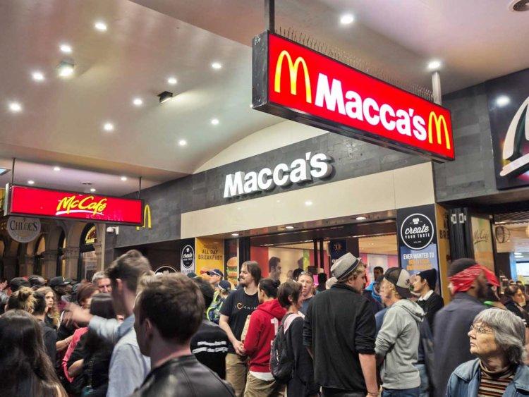 McDonald's Swanston & Lonsdale - Melbourne Convenience