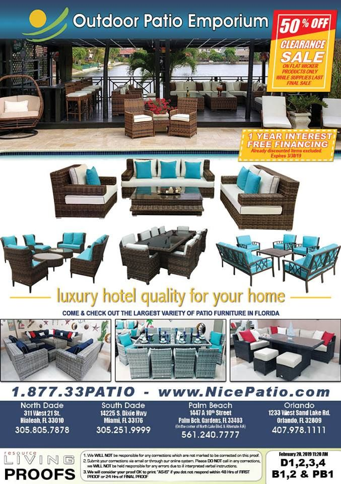 Outdoor Patio Emporium - Hialeah Reasonable