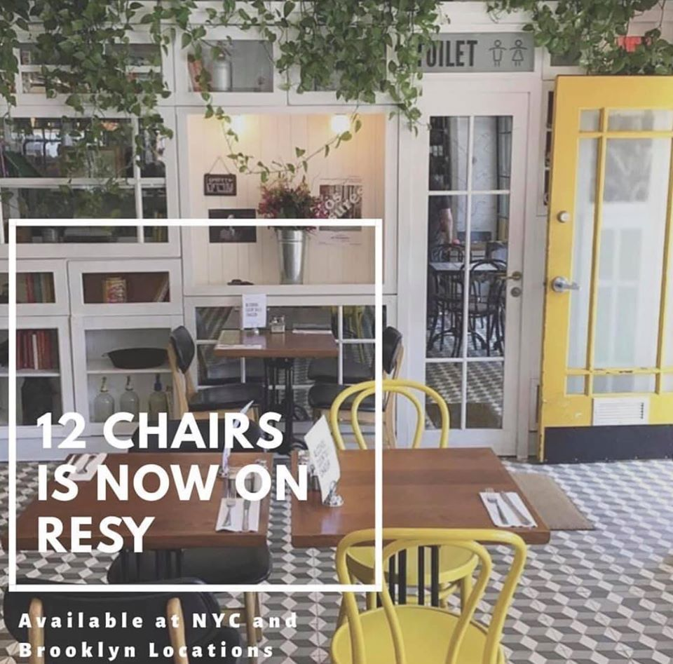 12 Chairs Cafe - Brooklyn Information