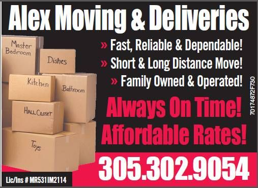 Alex Moving & Delivery Inc. - Tamiami Webpagedepot