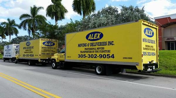 Alex Moving & Delivery Inc. - Tamiami Residential