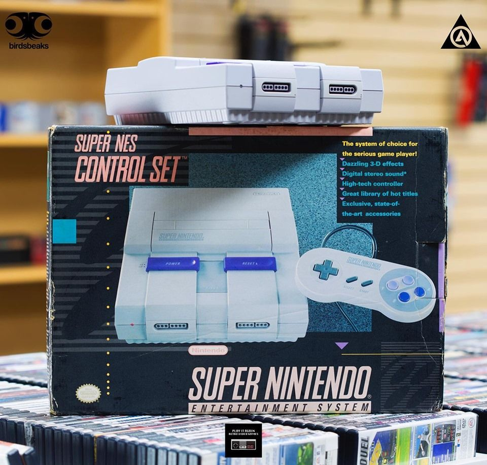 Play It Again Retro Video Games Convenience
