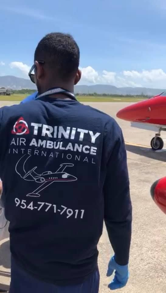 Trinity Air Ambulance International -Fort Lauderdale Convenience