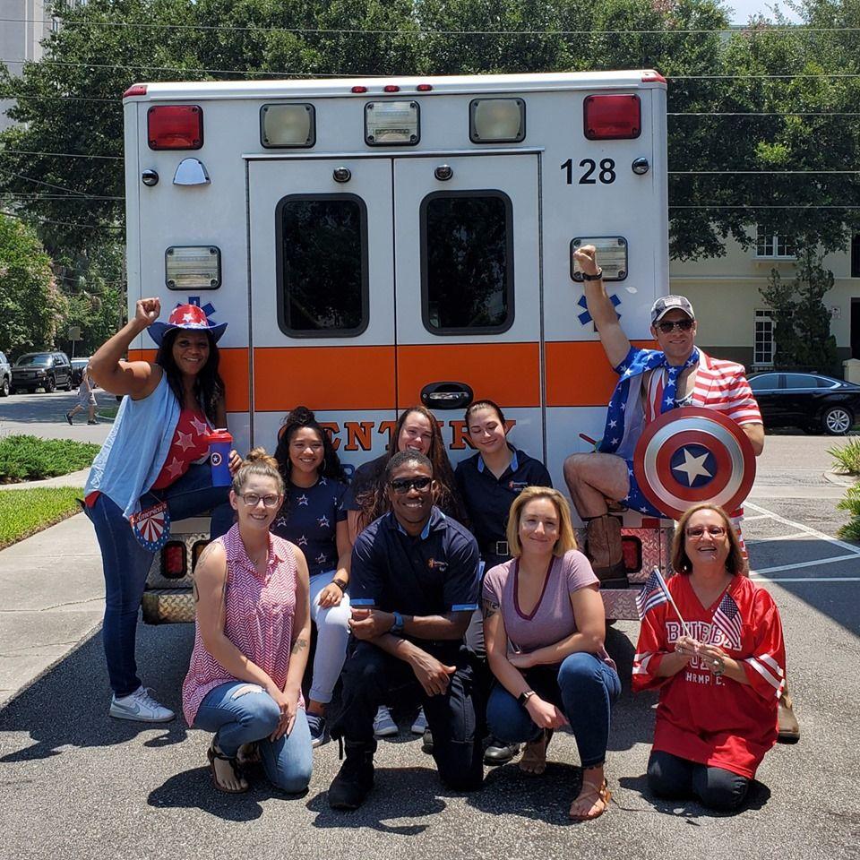 Century Ambulance Service - Jacksonville Wheelchairs