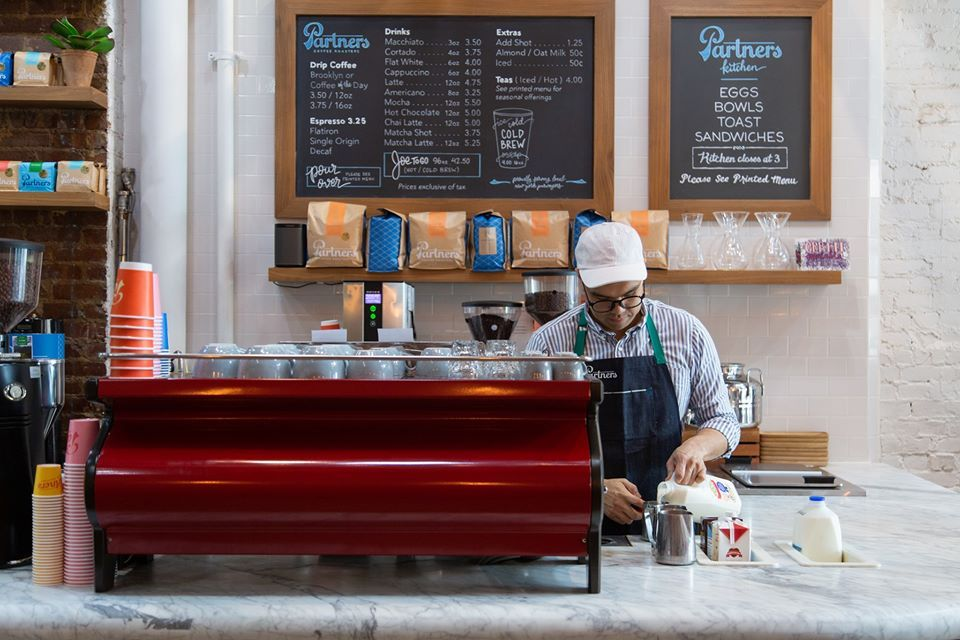 Partners Coffee - Brooklyn Maintenance