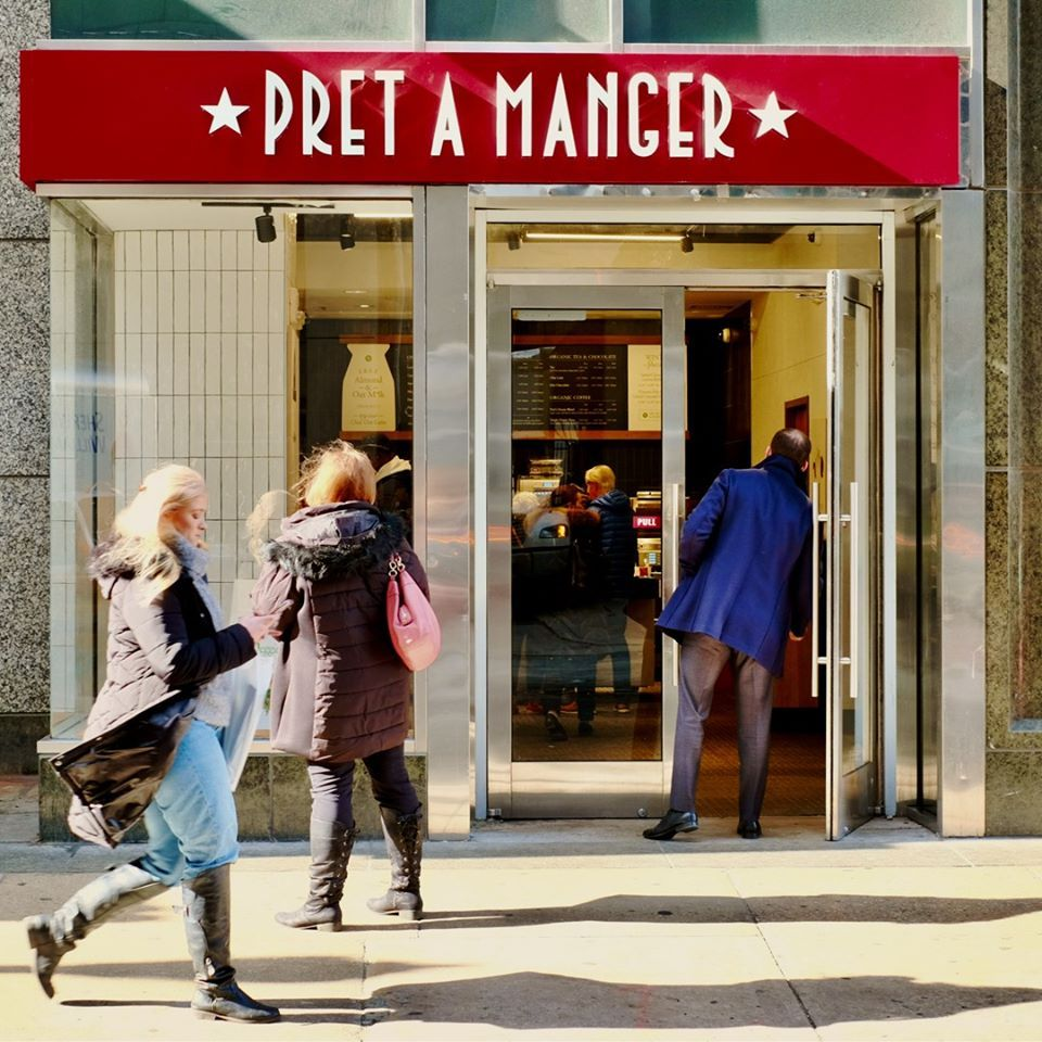 Pret A Manger - New York Accessibility
