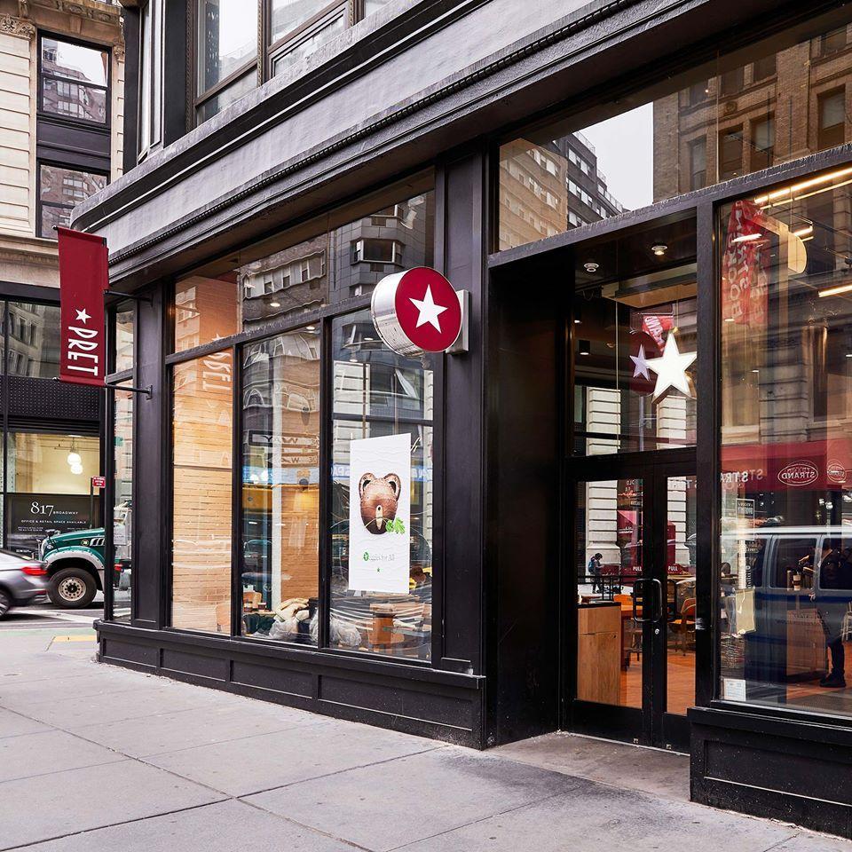 Pret A Manger Recruitment Center - New York Accessibility
