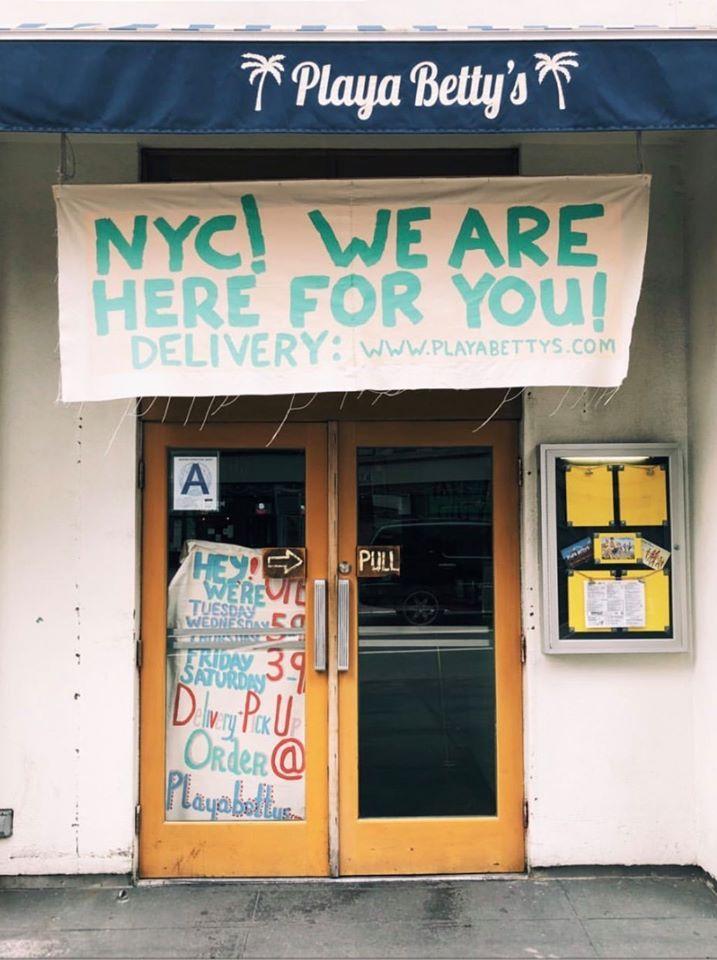 Playa Betty's - New York Information