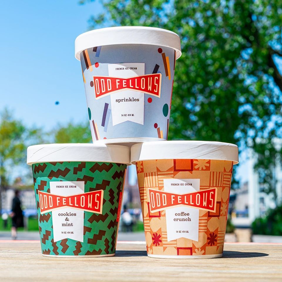 OddFellows Ice Cream Co. The Sandwich Shop - New York Information