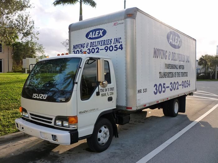 Alex Moving & Delivery Inc. - Tamiami Appointments