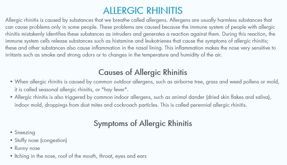 Advanced Allergy, Asthma & Sinus Care Webpagedepot