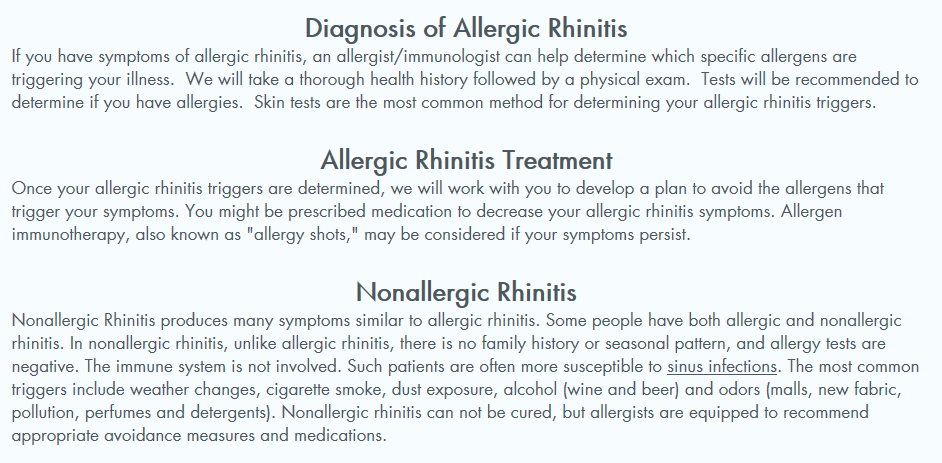 Advanced Allergy, Asthma & Sinus Care Organization