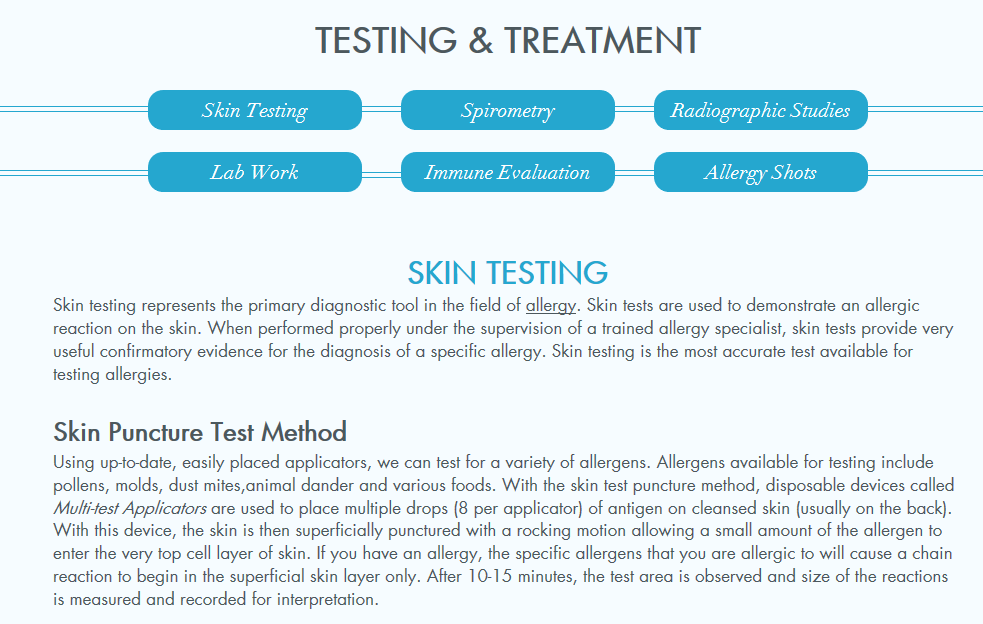 Advanced Allergy, Asthma & Sinus Care Appointment