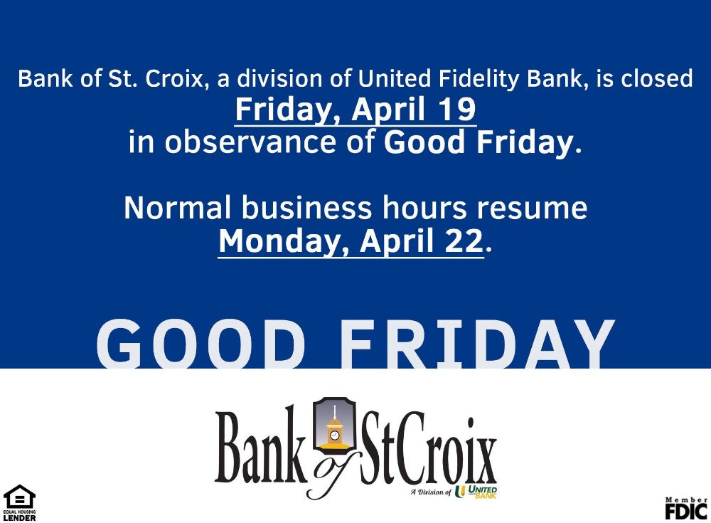 Bank of St. Croix - Peter's Rest Banking Center Informative