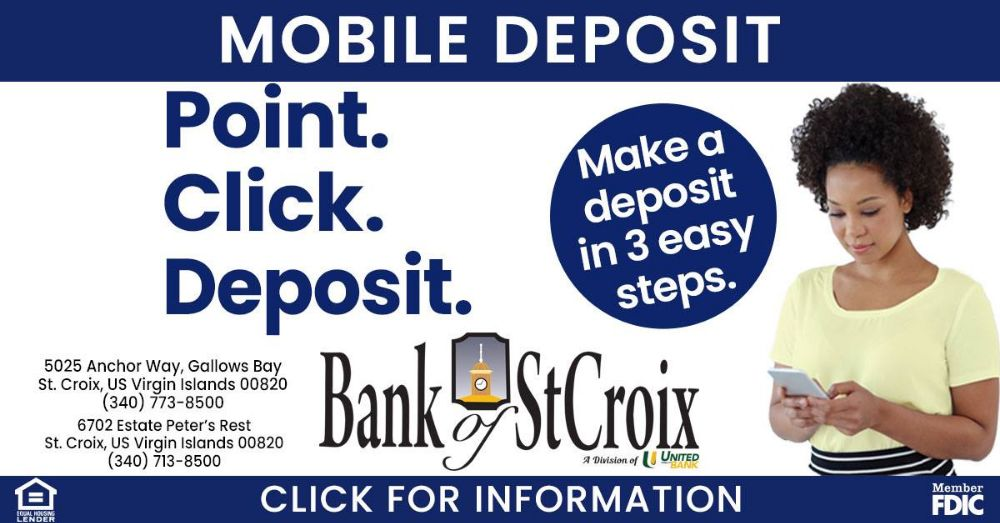 Bank of St. Croix - Peter's Rest Banking Center Regulations