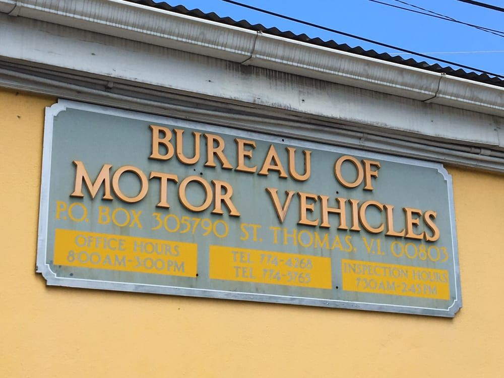 Bureau of Motor Vehicles - St Croix Positively