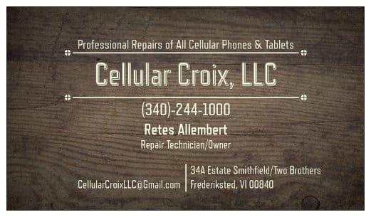 Cellular Croix, LLC - St Croix Information