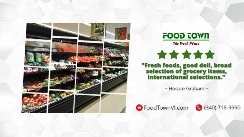 Food Town Supermarket - St Croix Establishment