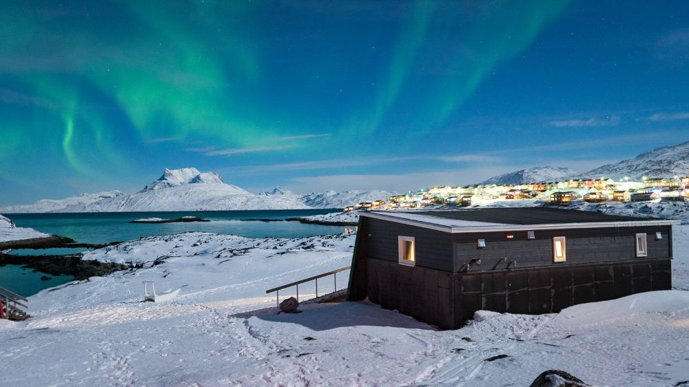 The Country of Greenland - Nuuk Greenlandic