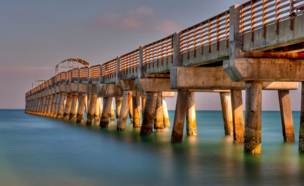 William O Lockhart Municipal Pier  - Lake Worth Informative