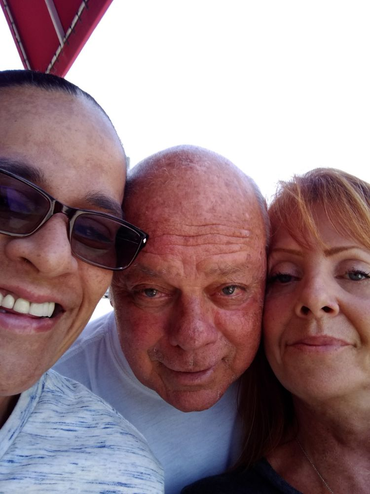 Mirian, Charlie and I