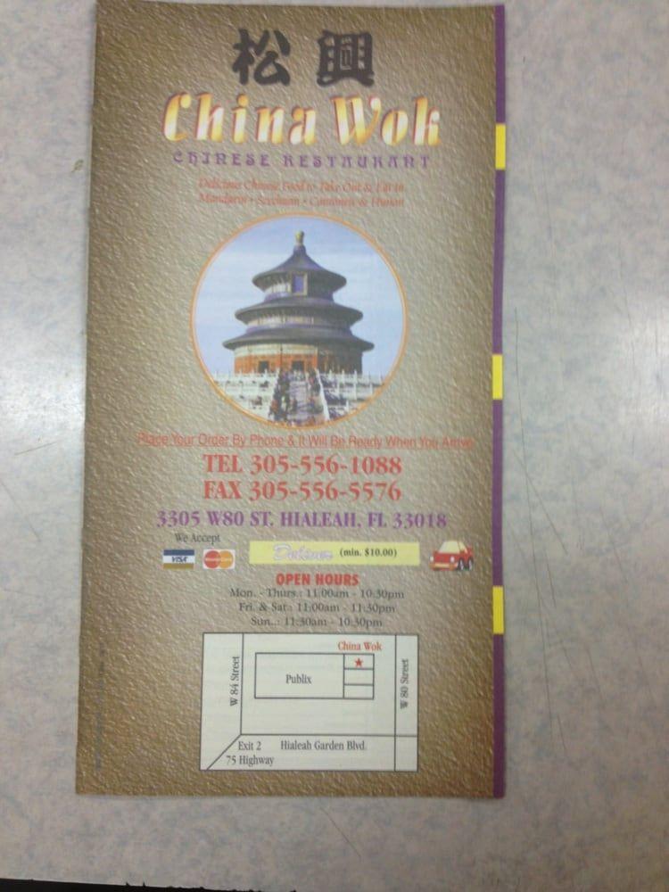 China Wok - Hialeah Information