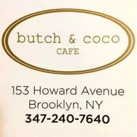 Butch & Coco - Brooklyn Butch & Coco - Brooklyn, Butch and Coco - Brooklyn, 153 Howard Ave, Brooklyn, NY, , Cafe, Restaurant - Cafe Diner Deli Coffee, coffee, sandwich, home fries, biscuits, , Restaurant Cafe Diner Deli Coffee, burger, noodle, Chinese, sushi, steak, coffee, espresso, latte, cuppa, flat white, pizza, sauce, tomato, fries, sandwich, chicken, fried